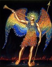 It is Gabriel who is the Trumpet of the Archangel Michael as his Messenger