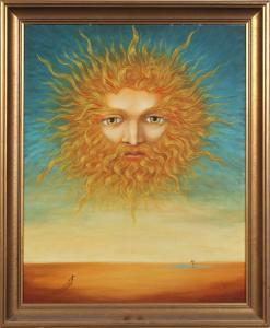 The Light of the Sun in Paradise represented the Virginity of Adam