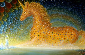 The Unicorn of the Last Day, for the Dabbat al-Ard of Sura 27:82 from the Qur'an