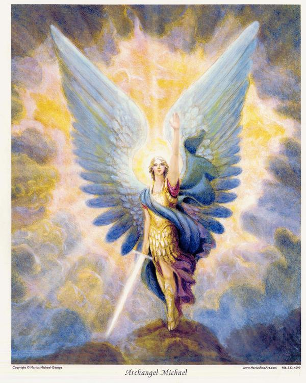 """""""Who is Like God?"""" the Angel of HIS PEACE"""