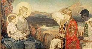 The Enlightened Sufis for me and to My Generation are as the Magi were to the Lamb and his Generation