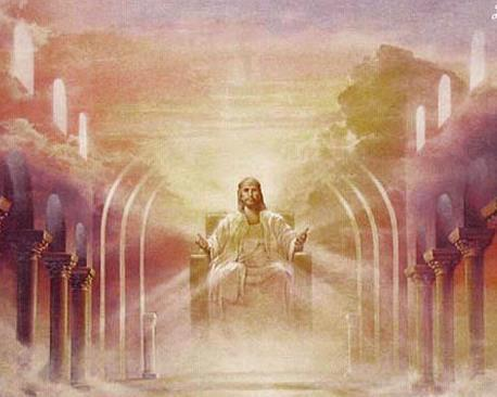 My Father Jesus on the Great White Throne of His Glory; the Lord God of the New Creation