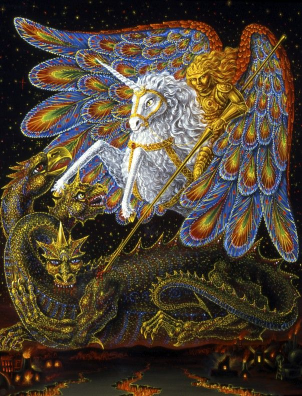 Thee Unicorn as the Vehicle of Salvation