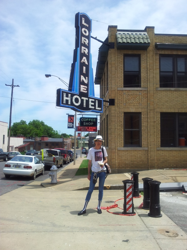 The Lorraine hotel where Dr. King was killed while the FBI watched, not even putting out an APB: why? But we know why