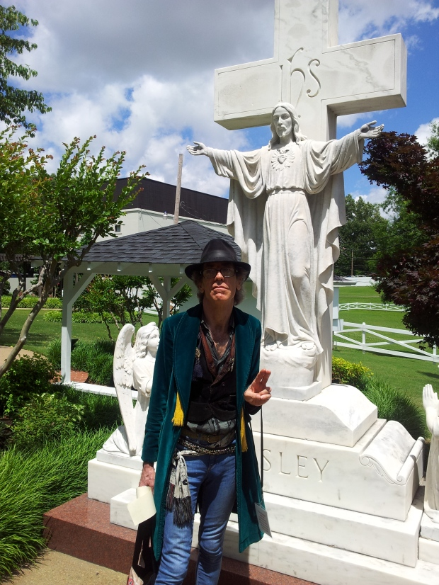 At the Cross of Aaron Presley: Salvation Rose at Graceland