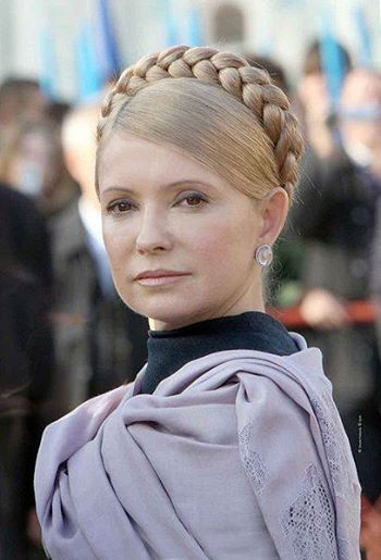 The Soul of Russia; and the Holy Angel of the Ukraine. Yulia Tymoshenko: in the position of the Widow of Israel