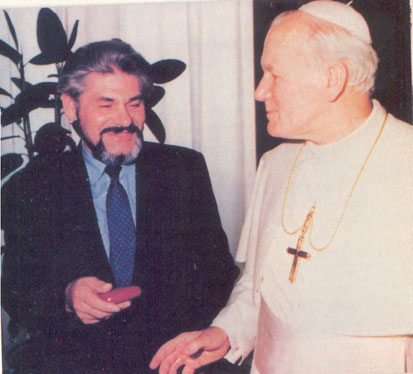 Saint Pope John Paul II and the Prophet Josyp Terelya