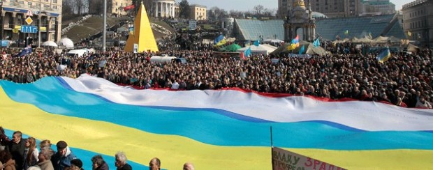 "The Unfurling of the Flag: Glory to the Peacekeepers of the Ukraine, for it is wriiten   ""...Blessed are the Peacemakers: for they shall be called the Children of the Most High..."""