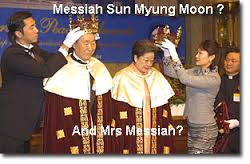 The Unlawful End of Democracy, why did Senator Lindsey Graham help crown Mr. Sun and Mrs. Moon? And end the 1st Amendment, and the Separation of Church and State???