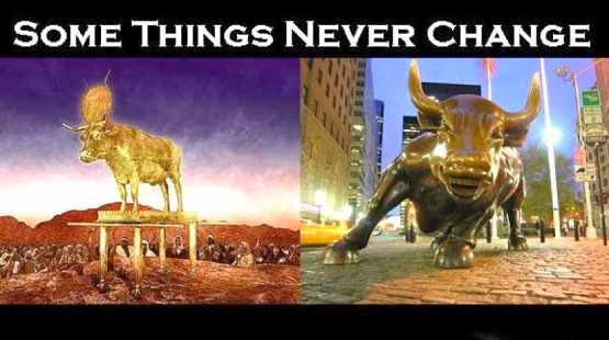 The Golden Calf: Then and Now