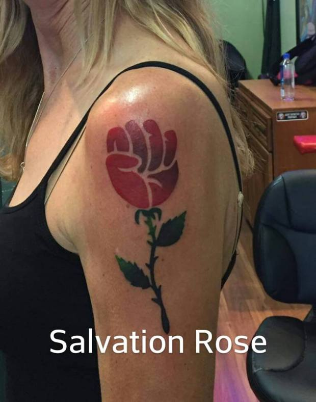 Salvation Rose Up From Haight Street